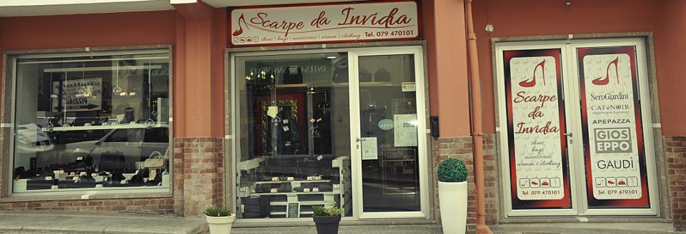 Esterni del negozio Scarpe da Invidia